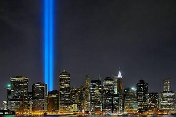 9-11 Skyline van Paul van Baardwijk