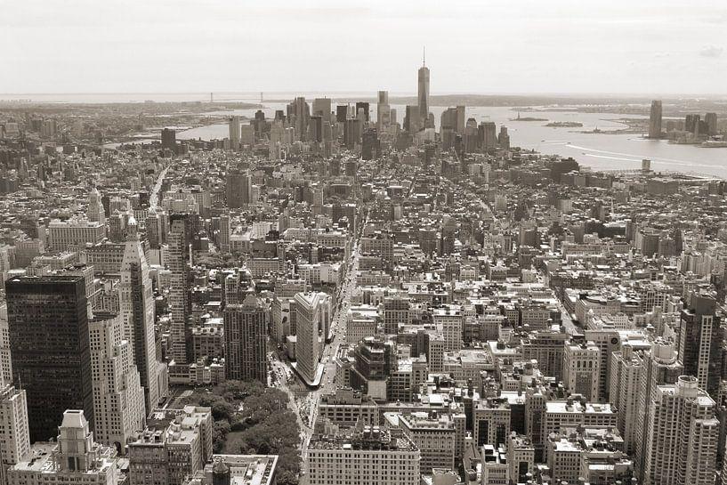 Manhattan vanuit de 'lucht' van Teuni's Dreams of Reality