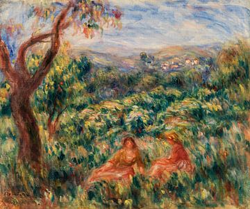 Landschaft, Renoir 1916 von Atelier Liesjes