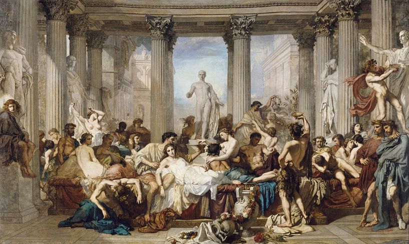 Römer während der Dekadenz, Thomas Couture von Meesterlijcke Meesters