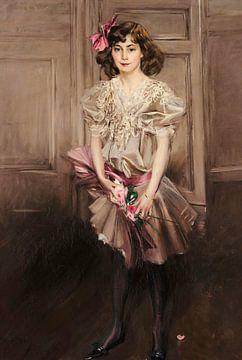 Porträt von Helen Victoria Crocker Russell, Giovanni Boldini
