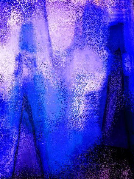 Abstract art 2015/2 1 van Gabi Hampe