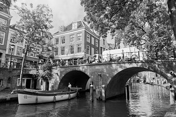 De Oude Gracht te Utrecht sur Ben van Boom