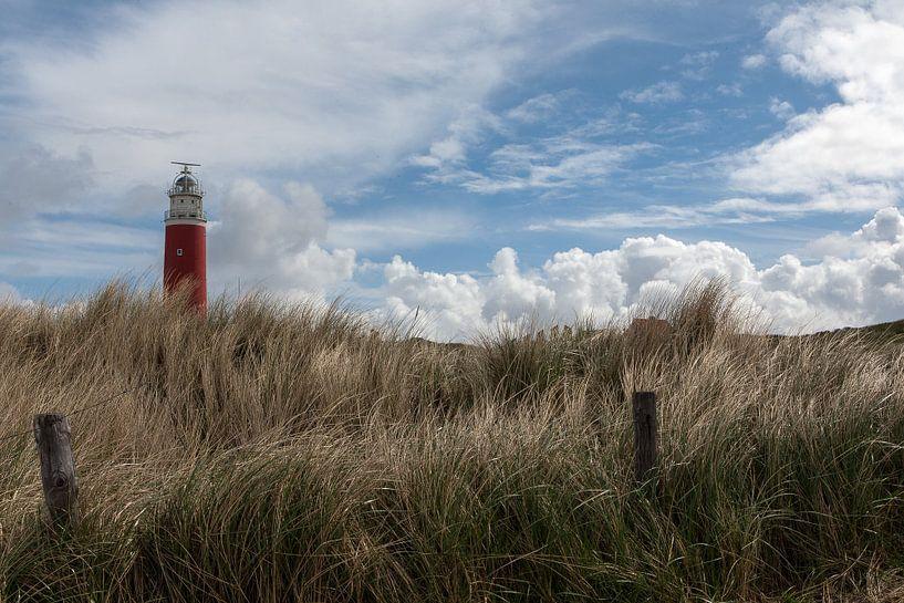 Vuurtoren op Texel van Guus Quaedvlieg