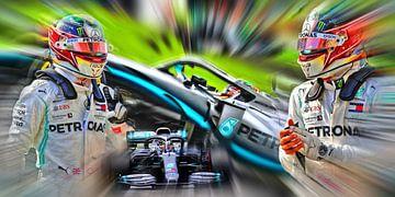 Hamilton - World Champion F1 van Jean-Louis Glineur alias DeVerviers