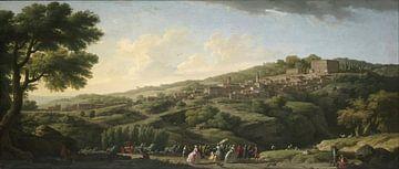 Villa in Caprarola, Claude-Joseph Vernet