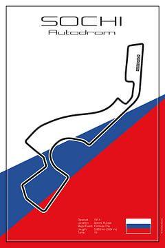 Racetrack Sochi von Theodor Decker