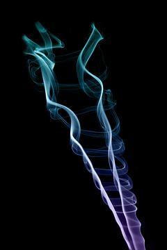 Fumée en couleur sur Karin de Boer Photography