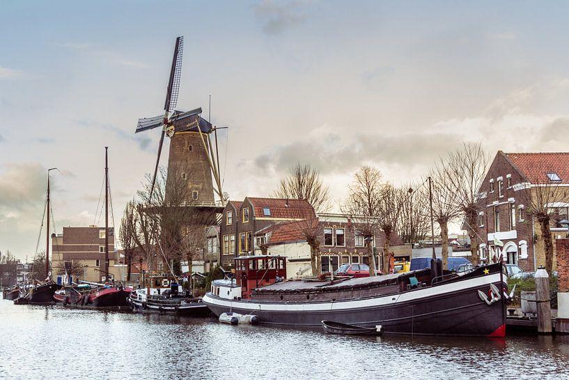 Museumhaven van Gouda van Hilda Weges