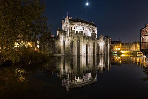 Het Gravensteen in Gent van