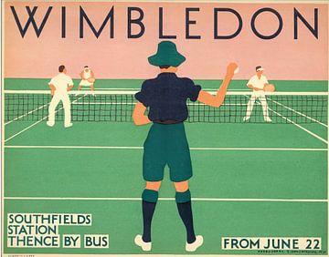 Wimbledon, 1931 van Antonije Lazovic