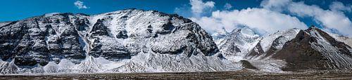 Bergpas in de Himalaya, Tibet