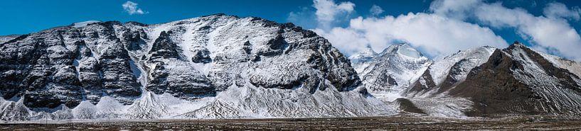 Bergpas in de Himalaya, Tibet van Rietje Bulthuis
