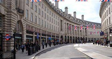 Regent Street, Piccadilly Circus, Londen, Verenigd Koninkrijk van