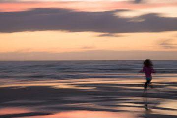 Rennen aan zee van Barbara Brolsma