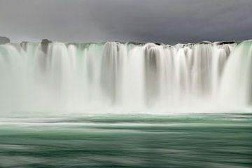 De Godafoss, waterval van de goden in Noord IJsland