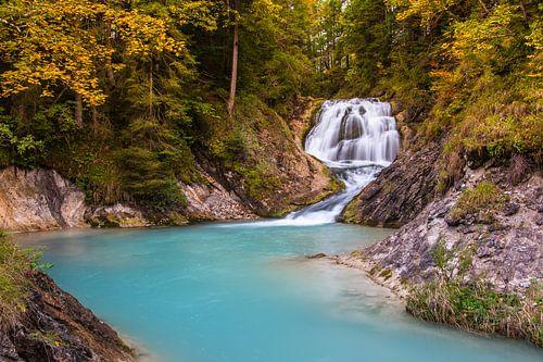 Waterval bij Wallgau van