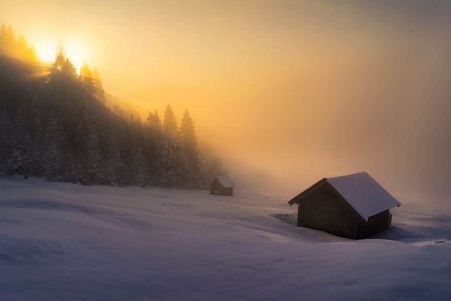 Snow World - Geroldsee van Vincent Fennis