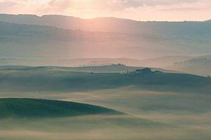 Toscaans landschap van Kimberley Jekel