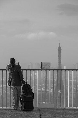 Départ de Paris van