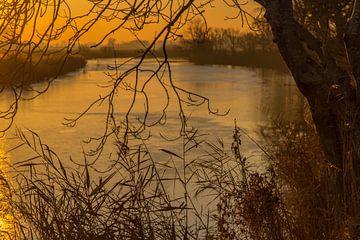 Zonsondergang von Piet Ritzema