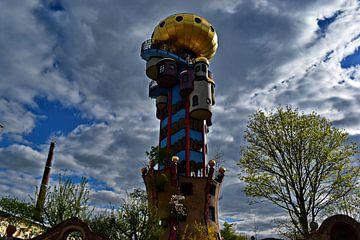 Hundertwasser-toren Abensberg van Roith Fotografie