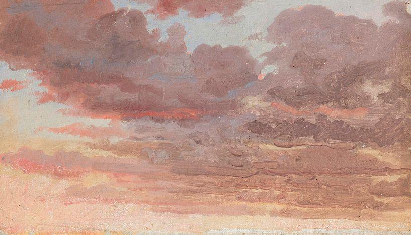 Himmelsstudie. Guten Abend, Peder Severin Krøyer von Meesterlijcke Meesters