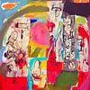 """Collage """"Zoeken naar betekenis"""" van Ina Wuite thumbnail"""