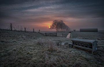 Nieuwe Winterdag von Mario Calma