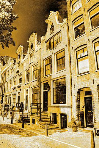 Jordaan Bloemgracht Amsterdam Nederland Goud