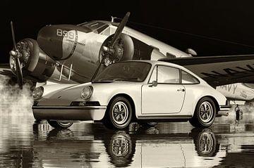 Porsche 911 in Schwarzweiß von Jan Keteleer