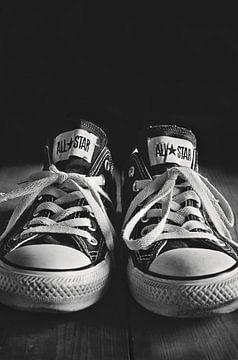 All Star Turnschuhe in Schwarz-Weiß von Jeans and Stuff