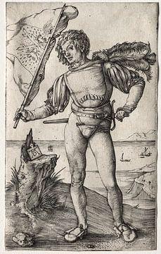 Der burgundische Fahnenträger, Albrecht Dürer von De Canon
