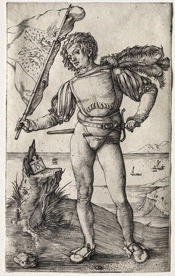 De Bourgondische vaandeldrager, Albrecht Dürer
