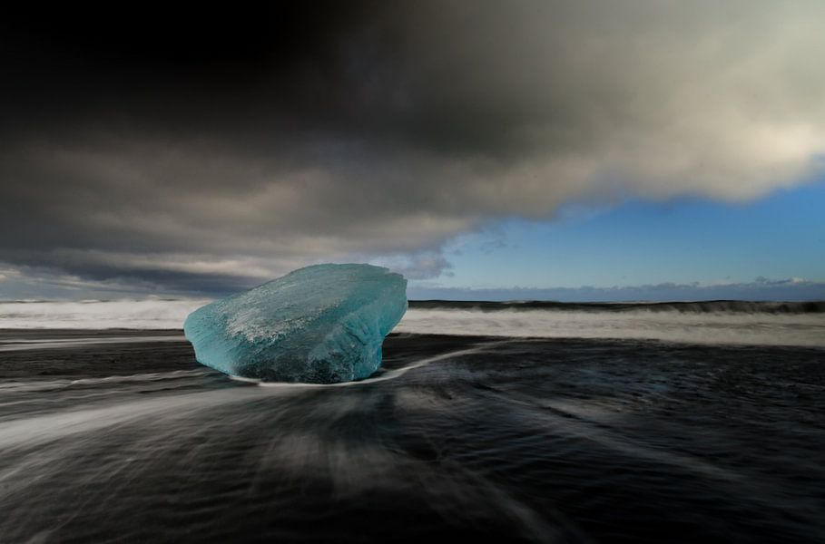 Blue ice van Lex Schulte