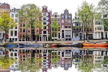 Aus der Herengracht 142 Ansicht von Hendrik-Jan Kornelis
