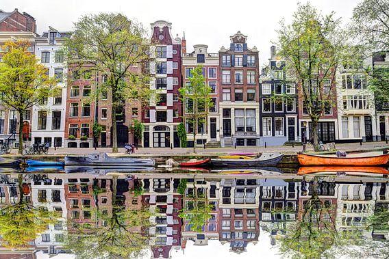 Vanuit Herengracht 142 uitzicht
