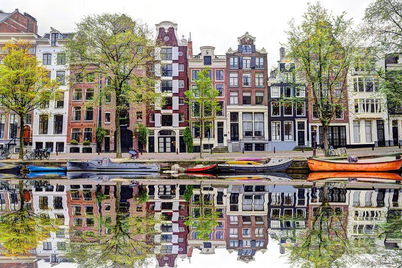 Vanuit Herengracht 142 uitzicht van Hendrik-Jan Kornelis