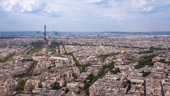 Panorama Parijs van Christian de Leeuw