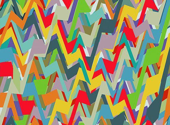 Muster Pop Art von Marion Tenbergen