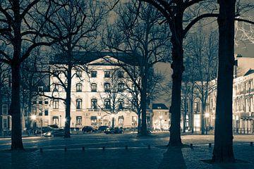 Lange Voorhout im Winter von Raoul Suermondt