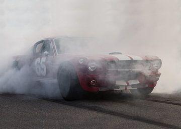 Mustang-burnout von marco de Jonge