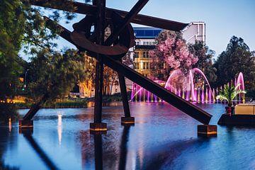 Berlin – Potsdamer Platz / Piano-See von Alexander Voss