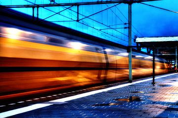 Trein te Rotterdam Centraal, Nederlandse Spoorwegen sur