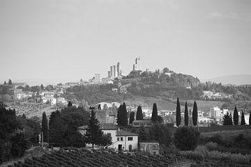 Skyline San Gimignano van