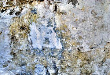 Abstracte muur: ijskoningin van