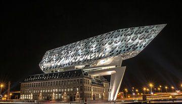 Havenhuis Antwerpen Architectuur Belgie Kantoor van Lars Mol