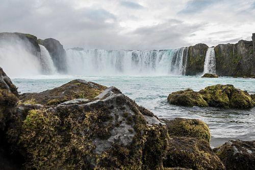Goðafoss Iceland van Rene Jacobs