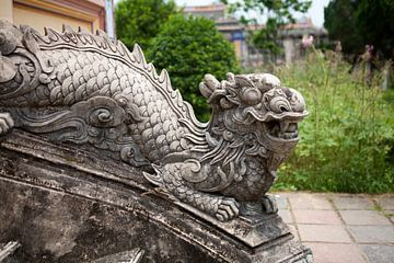 Tempelanlage in Vietnam von t.ART