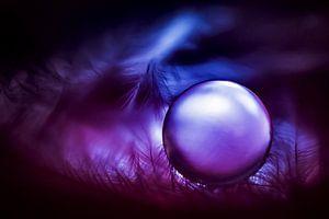Purple drop... van Louise Schippers